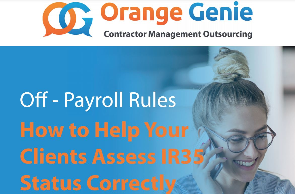 How to help your clients assess IR35 Status Correctly