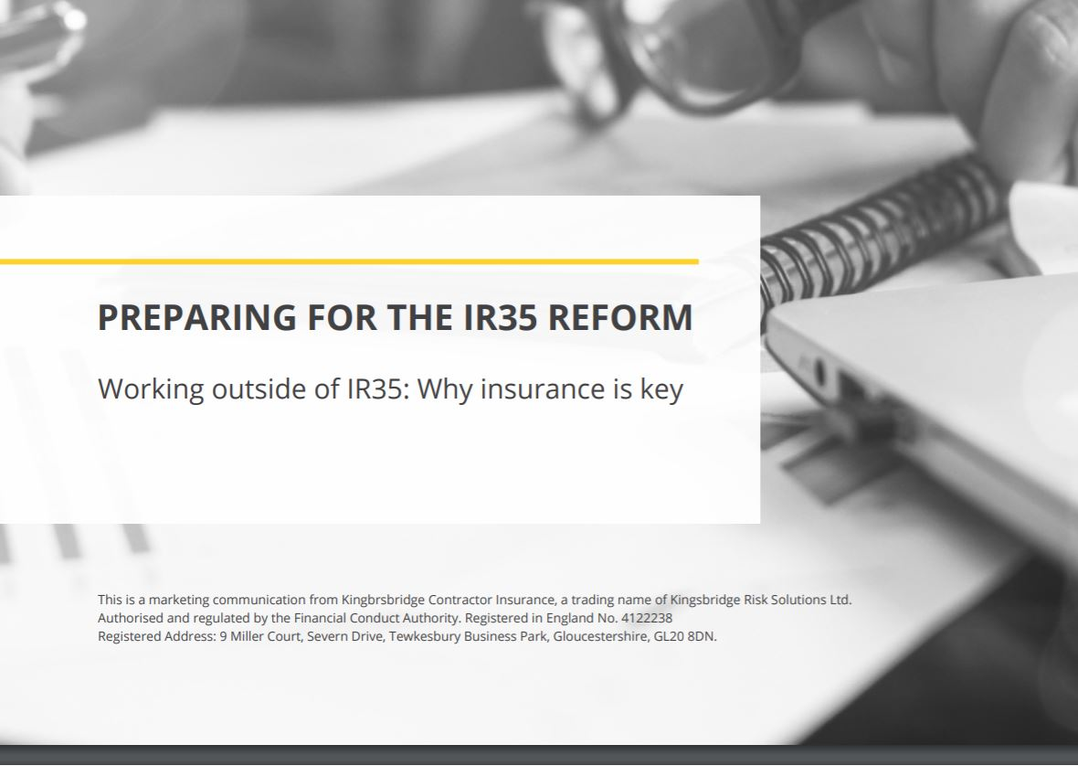 Working outside of IR35 why insuramce is key