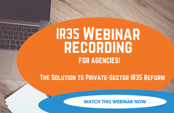 IR35 Webinar recording for agencies